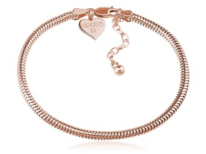 Bransoletka baza do Beads - rose gold